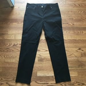 NWOT Zac & Rachel sz 14 black ankle pants